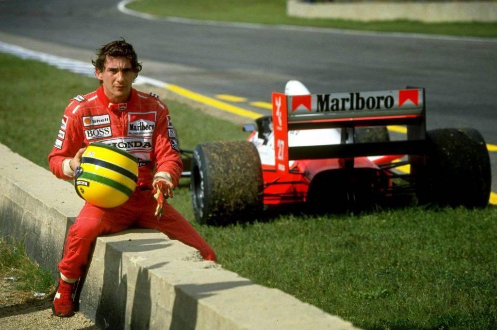 filmes motivacionais para atletas: Cena do filme Senna
