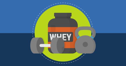 Benefícios do suplemento Whey Protein