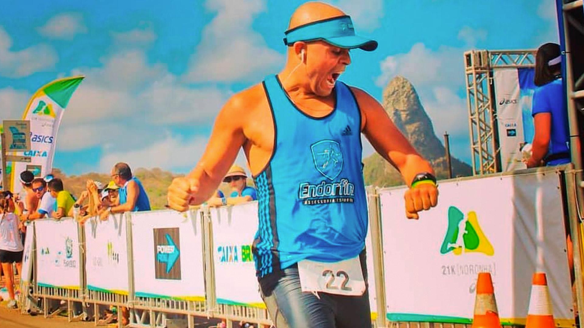 Meia maratona de Noronha
