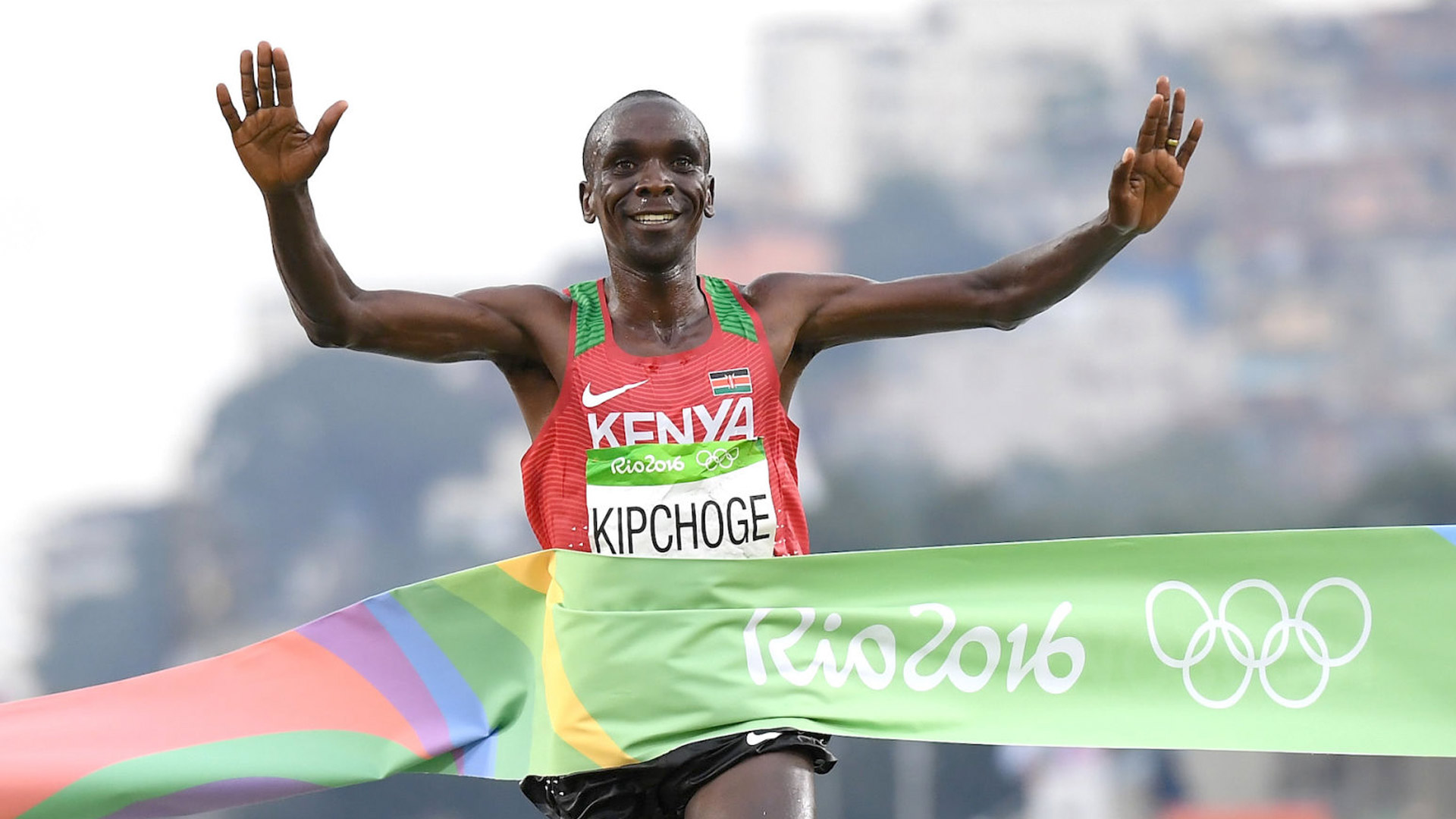 maratonista queniano Eliud Kipchoge