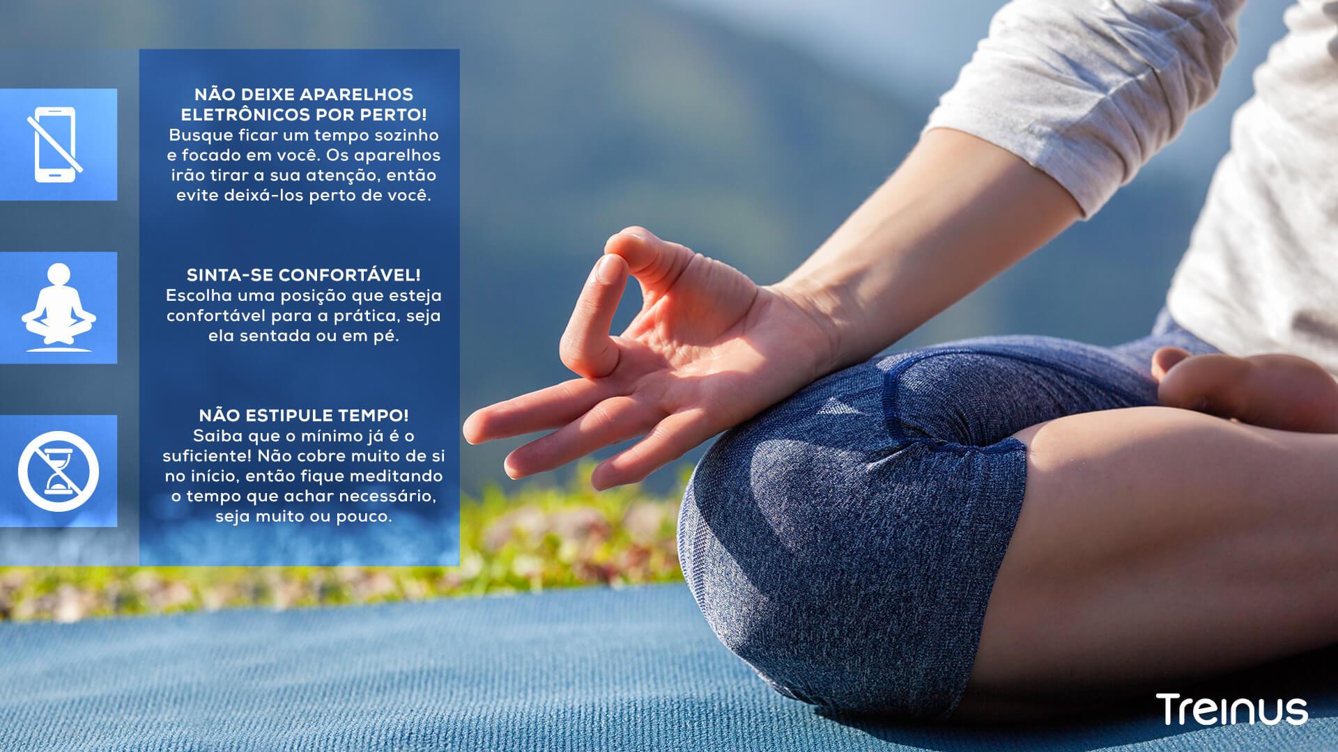Infográfico: Dicas para Meditação