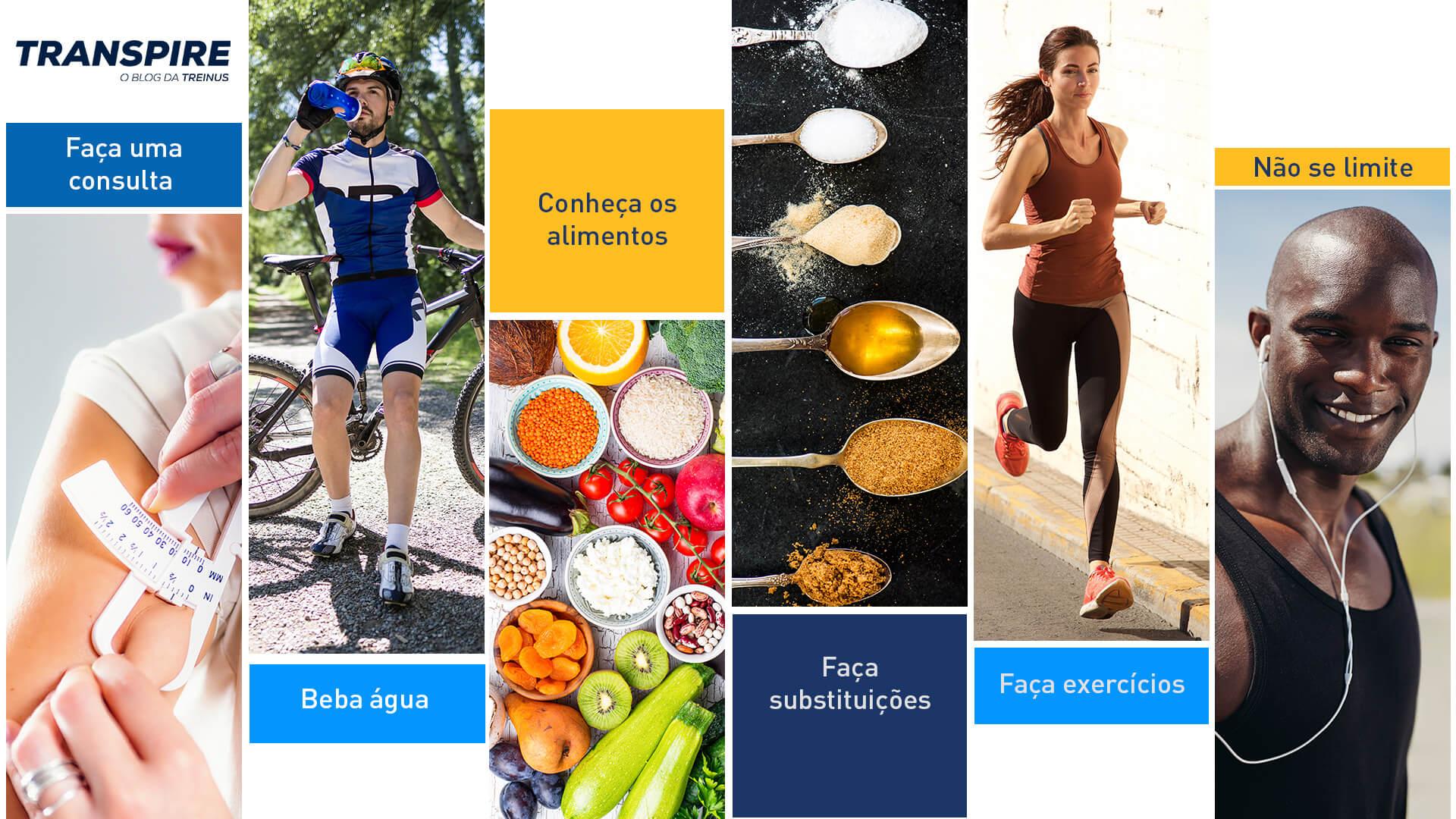 6 dicas de como melhorar a alimentação