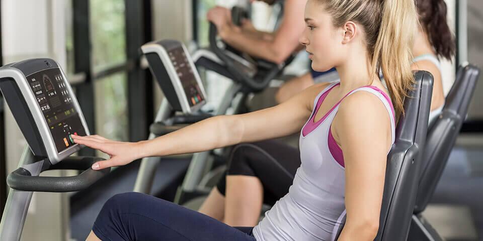 atleta praticando o treino endurance